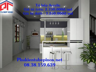 Tủ bếp MFC - Tủ bếp nhà Anh Minh - Quận 3