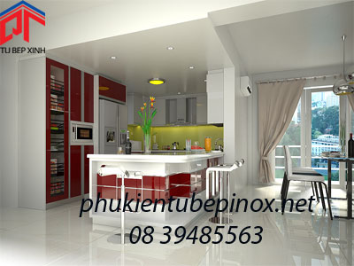 Tủ bếp nhà anh Chung - TP. Hồ Chí Minh