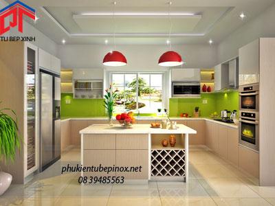 Tủ bếp nhà anh Tuấn - Quận 7
