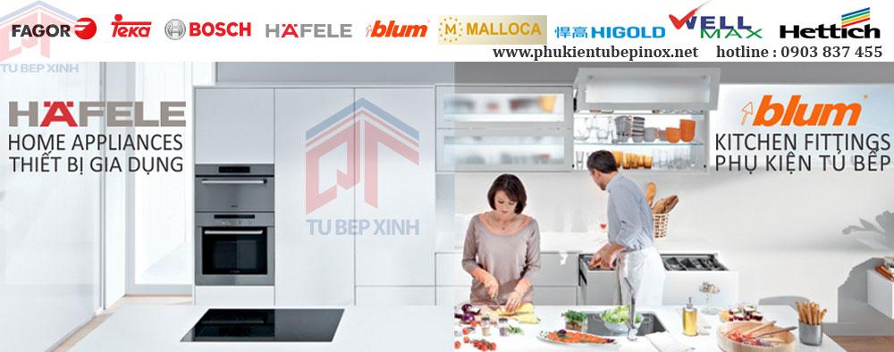 Phụ kiện tủ bếp Blum chính hãng