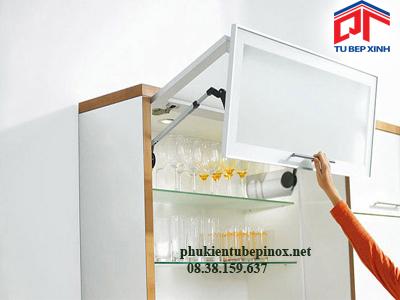 Phụ kiện tủ bếp Blum, Giá bộ tay nâng cho hai cánh tủ bếp Blum AVENTOS HF