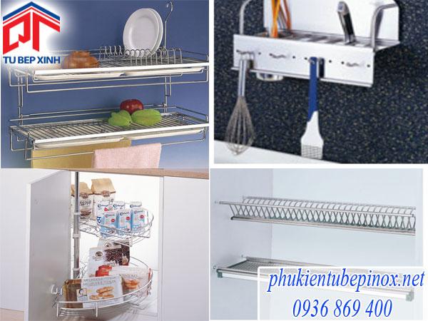 Tủ bếp đẹp với phụ kiện tủ bếp Wellmax