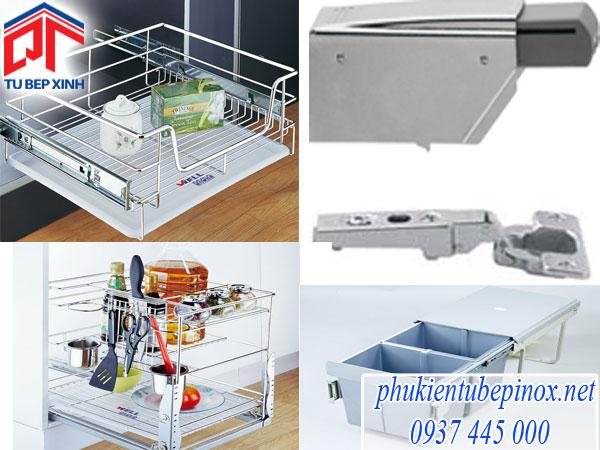 Chọn phụ kiện tủ bếp phù hợp tại tủ bếp xinh