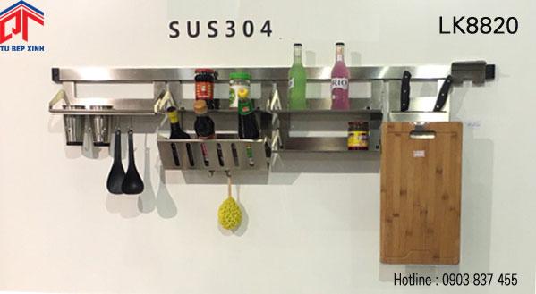 Giá treo đồ đa năng nhà bếp thông minh LK8820