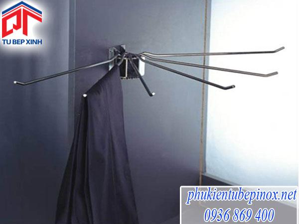 Phụ kiện tủ áo - Mắc áo xếp 6 thanh