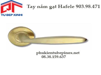 Phụ kiện cửa Hafele -  Tay nắm gạt cửa Hafele