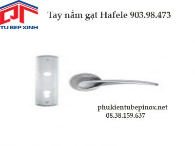 Phụ kiện cửa Hafele - Tay nắm gạt Hafele cho cánh cửa