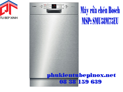 Máy rửa chén Bosch SMU58M75EU