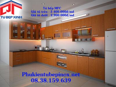 Tủ bếp MFC  nhà Chị Loan - Quận 9