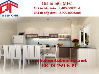 Tủ bếp MFC  nhà Chị Lam - Quận 2