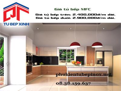 Tủ bếp MFC nhà anh Hòa - Quận 3