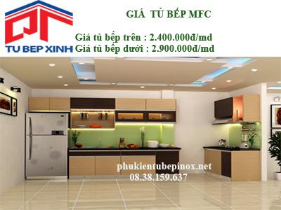 Tủ bếp MFC nhà chị Chi - Quận 10