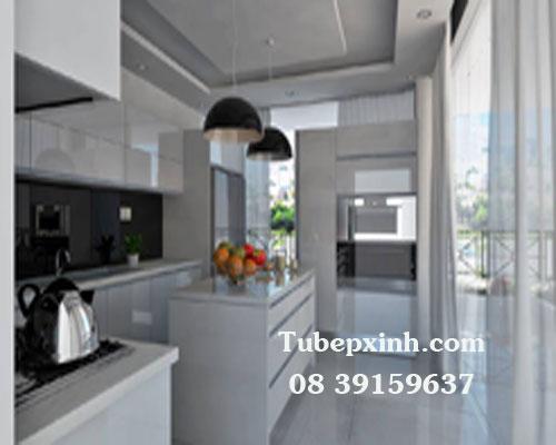 Tủ bếp hiện đại nhà Chị Vân ở Bình Chánh