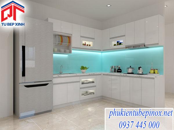 Tủ Bếp Acrylic nhà Anh Minh - Quận 3