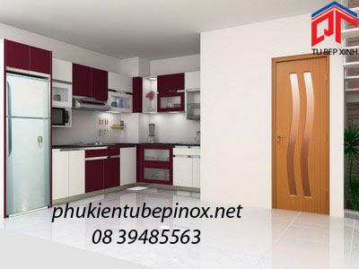 Tủ bếp gia đình nhà anh Hòa - Bình Thạnh