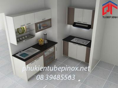 Tủ bếp gia đình nhà anh Hải - Phú gia