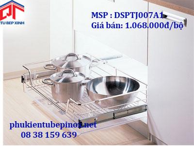 Phụ kiện tủ bếp Wellmax - Rổ xoong úp nồi loại PTJ 800 ( có khay )