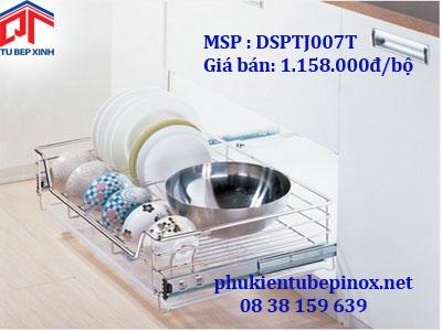 Phụ kiện tủ bếp Wellmax -  Rổ xoong chia ngăn loại PTJ cho tủ 900 ( ray hãm)
