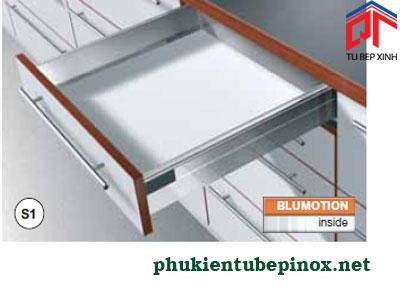 Phụ kiện tủ bếp Blum - Ray hộp  giảm chấn TANDEMBOX S1 cho ngăn kéo thường
