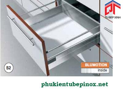 Phụ kiện tủ bếp Blum - Ray hộp giàm chấn TANDEMBOX S2 cho ngăn kéo thường