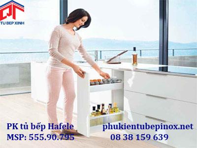 Phụ kiện tủ bếp Hafele - Ray hộp Tandembox cho tủ hẹp chiều dài 200mm
