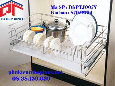 Phụ kiện tủ bếp dưới - Rổ xoong  chia ngăn lại PTJ tủ 600