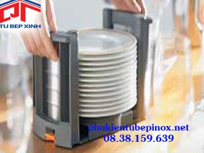 Phụ kiện tủ bếp Hafele - Khay đựng đĩa, có thể điều chỉnh từ 180 - 320mm