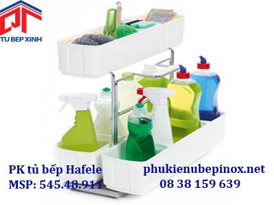 Phụ kiện tủ bếp Hafele - Rổ Cleaning Agent  đựng dụng cụ vệ sinh nhà bếp