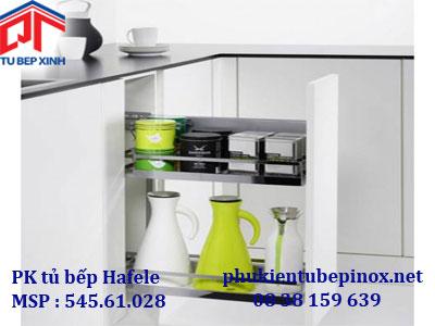 Phụ kiện tủ bếp Hafele - Bộ rổ kéo cho tủ rộng 15cm