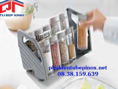 Phụ kiện tủ bếp Hafele - Khay đựng gia vị Hafele chiều rộng 300