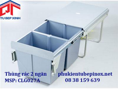 Thùng rác phân loại 2 ngăn wellmax