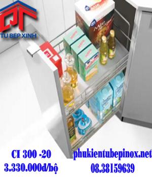 Phụ kiện tủ bếp Hettich - Kệ gia vị CI 300 - 20.