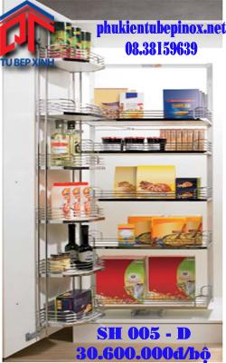 Phụ kiện tủ bếp Hettich - Kệ đồ khô 6 tầng