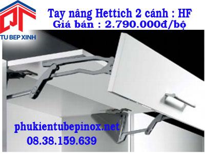 Phụ kiện tủ bếp Hettich - Tay nâng 2 cánh tủ