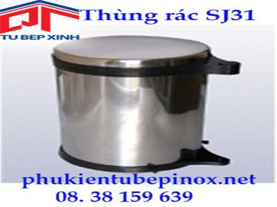 Thùng rác nắp inox SJ31