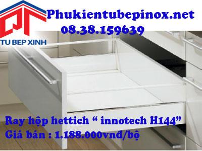 Phụ kiện tủ bếp Hettich - Ray hộp Innotech H144