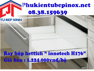 Phụ kiện tủ bếp Hettich - Ray hộp Innotech H176