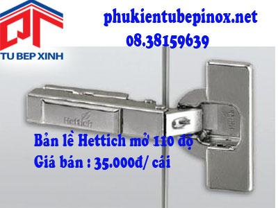 Phụ kiện tủ bếp Hettich - Bản lề  INTERMAT 110 độ