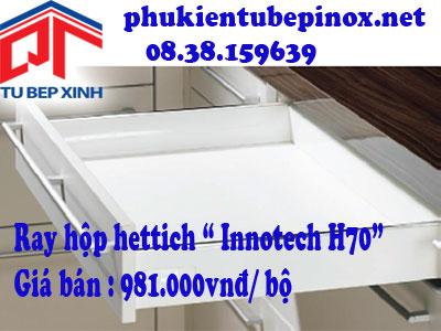 Phụ kiện tủ bếp Hettich - Ray hộp Innotech H70