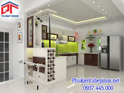 Tủ bếp Acrylic nhà anh Yoo - Quận 7