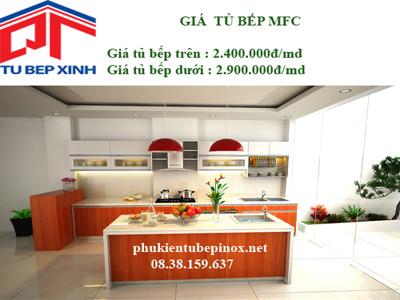 Tủ bếp MFC nhà anh Bình - Bình Thạnh