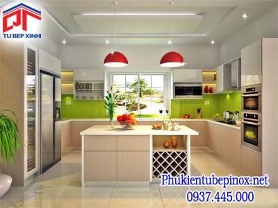 Tủ bếp MFC nhà Chị Lộc  - Bình Chánh