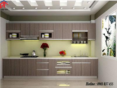 Tủ bếp MFC  nhà anh Đức  - Quận 3